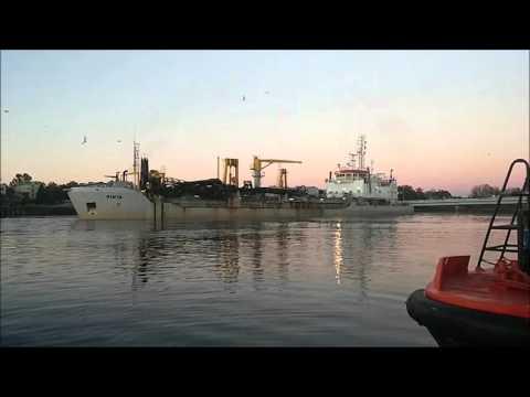 "Port Parnu ""PINTA"" trailing suction hopper dredge"