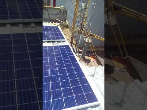 ENGINERING_Solar installation system#project solar moounting process roof top-eng huxleigh kiriye