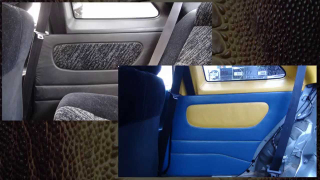hand sewing a car door panel auto upholstery youtube. Black Bedroom Furniture Sets. Home Design Ideas