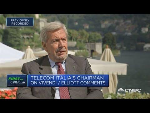 Telecom Italia chairman: CEO Amos Genish the right man to do the job | Ambrosetti 2018