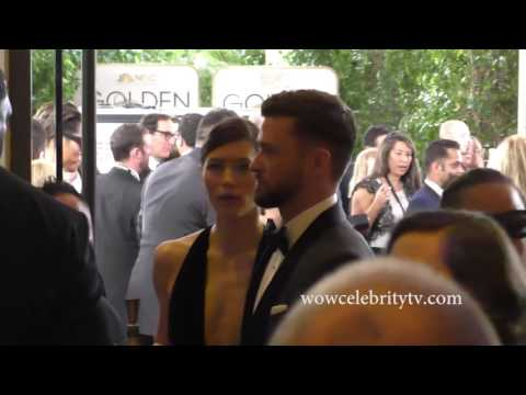Justin Timberlake and Jessica Biel in The...