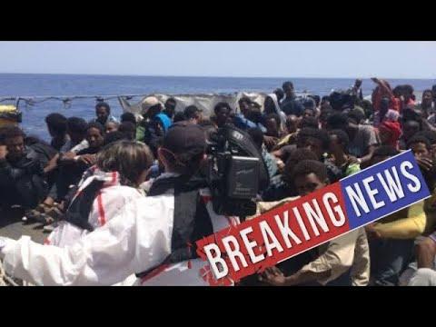 [Breaking News & Politics]CNN witnesses dramatic migrant rescue in Mediterranean