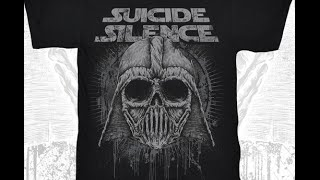 """Suicide Silence """"Star Wars"""" T-shirt - Adler to drum for Megadeth on N.A. tour - Bleeding Through"""
