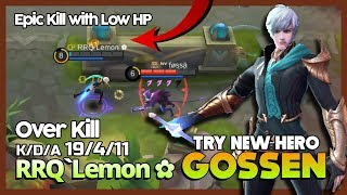 RRQ`Lemon ✿ Try Gossen OverPower Assassins? ft RRQ`Tuturu & RRQ`Marsha ~ Mobile Legends