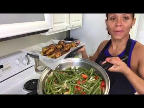 Como cocinar tus green beans