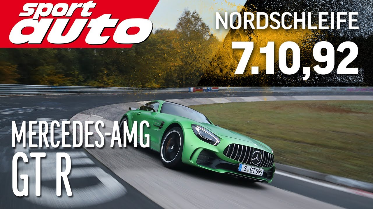 Mercedes Amg Gt R   Min Nordschleife Hot Lap Sport Auto Worlds Exclusive First Test Youtube