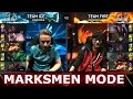 Team Ice vs Team Fire Marksmen Mode | LoL All-Star Event 2016 Day 1 | ICE vs FIRE ADC