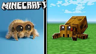 Lucas the Spider's HOUSE in Minecraft!
