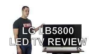 LG LB5800 LED TV Review