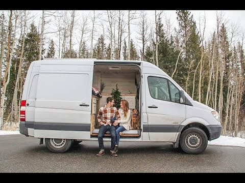 DIY Stealth Custom Sprinter Van ~ Designing For Outdoor Adventures