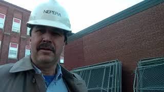 Don Bosco Tech HS demolition site Paterson,NJ