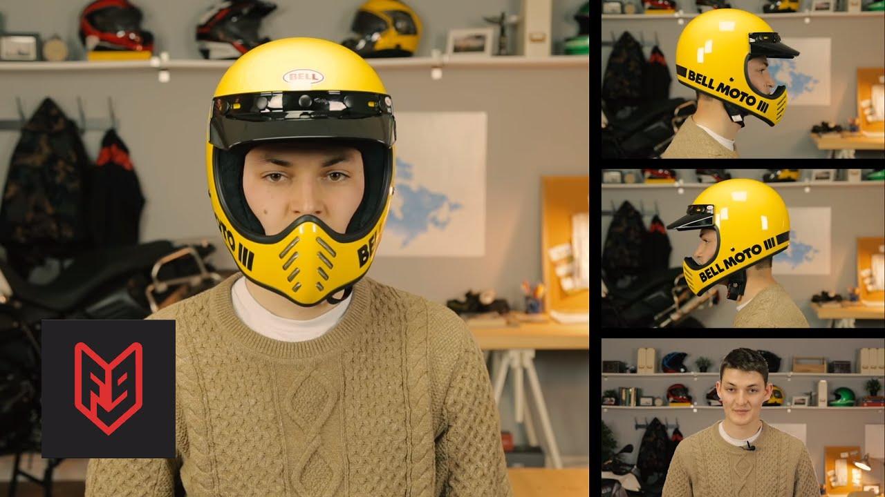 Bell Moto 3 >> Bell Moto 3 Solid Helmet Full Face Motorcycle Helmets