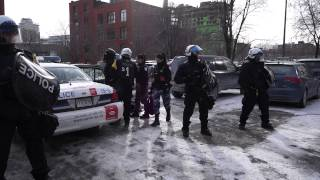 Anti Plan Nord Protester Arrested For Second Time On Monday 08-12-2014 000008