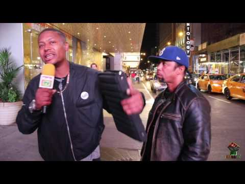 REV CLEVELAND POLITE AND SANKOFA: THE CHURCH OF SCIENTOLOGY LIVE IN TIMES SQUARE