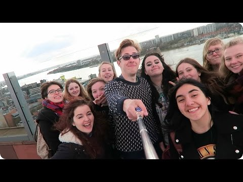 Antwerp Meetup & Trying Belgian Food! | Evan Edinger Travel
