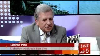 Live nach 6  Interview mit Lothar Pirc über Ayurveda in DRF 1