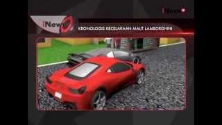 Aparat Kepolisian Surabaya Lakukan Olah TKP Kecelakaan Lamborghini - iNews Pagi 01/12