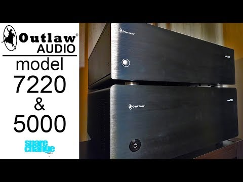 Outlaw Audio Model 7220 & Model 5000 Review | KILLER HOME THEATER AMPS!