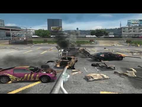 flatout 3 : derby 2 with replay with my car of blaster XL