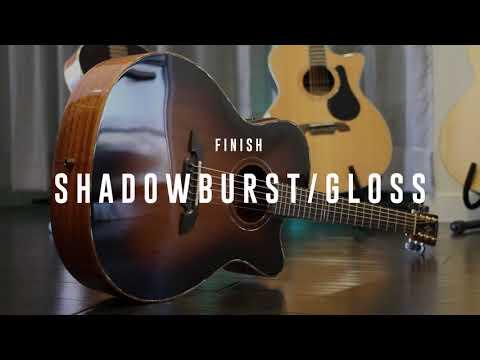 MFA66CE Masterworks OM/Folk Acoustic-Electric Guitar Shadow Burst