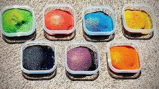 Learn colours with sand and water! FUN VIDEO FOR KIDS