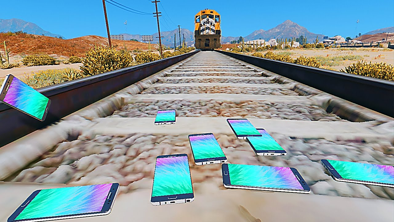 10 Wild Ways GTA V Players Have Tried To Stop A Train