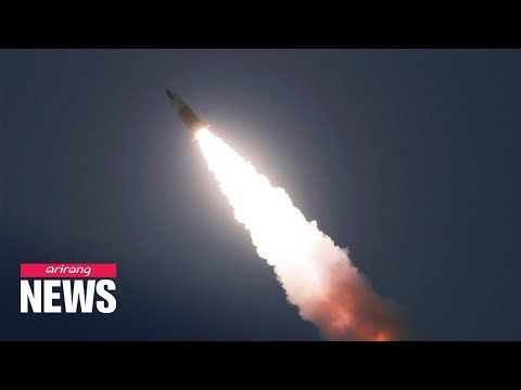 N. Korea Fires Two Short-range Ballistic Missiles Fired Towards East Sea