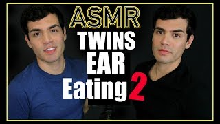 Gambar cover ASMR - Twins Ear Eating 2 (Male Whisper, Ears, Wet Mouth Nibbling for Sleep & Relaxation)