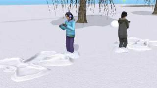 A music video made with the sims 2 ~ English Translation ~ I'm fall...
