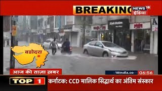 Airport Shut, Trains Diverted in Vadodara as Monsoon Showers Batter Parts of Gujarat