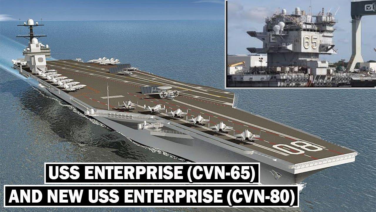 a1eeb6242b USS Enterprise (CVN-65 And New CVN-80)  The Best Aircraft Carrier the Navy  Ever Built