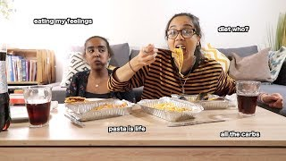 eating all the junk food on my birthday (mukbang) | clickfortaz