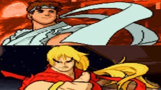 Repeat youtube video Street Fighter Alpha 3 - Dramatic Battle - Ryu and Ken (GBA)