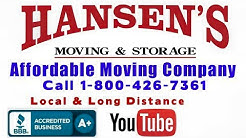 Affordable Long Distance Movers Santa Rosa-Number One Long Distance Movers Santa Rosa-800-426-7361