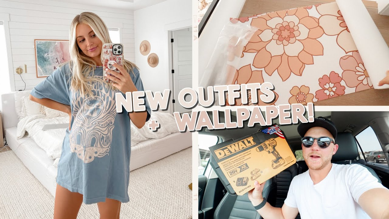 baby girl #2's new wallpaper, pregnancy outfits + a parker adventure!!
