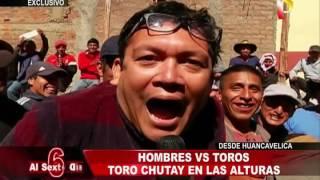 Hombres vs. Toros: La fiesta del Toro Chutay desde Huancavelica