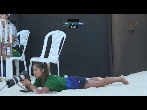 W41 Group CR W AUSTRALIA vs PARAGUAY Main Court