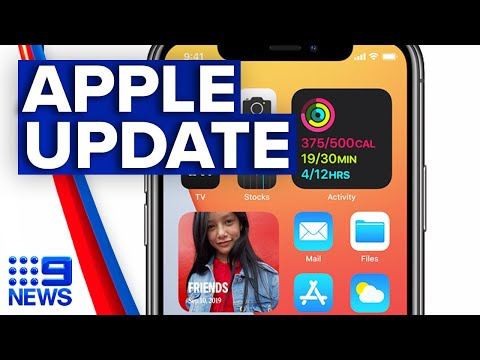 Your iPhone homescreen is about to change – here's how | Apple WWDC 2020 | 9 News Australia