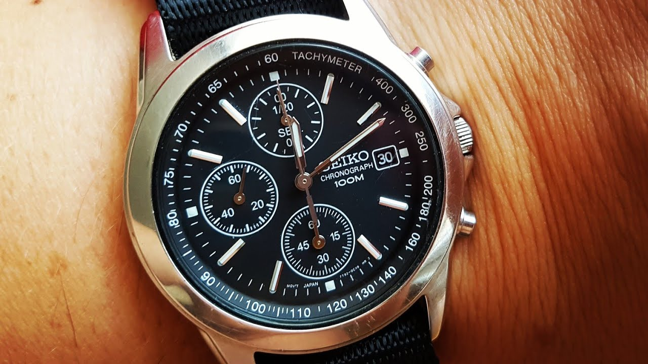 Chronograph Seiko How To Reset Recalibrate The Hands On A Chronograph Watch Seiko 7t92 Cal