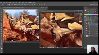 Time-Lapse Digital Painting Thorny Devil