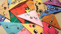 Marcador de Páginas/ Bookmarks - Origami Kawaii Cute