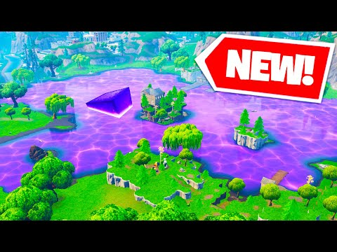 The FORTNITE CUBE IS MOVING!   Loot Lake EVENT!