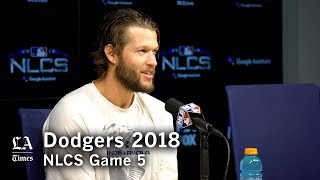 Dodgers NLCS 2018: Clayton Kershaw on winning Game 5 of the NLCS