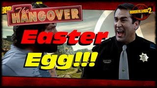 Borderlands 2 Hangover Easter Egg! IN THE FACE! Shoot Face McShooty In The Face! (1080p)