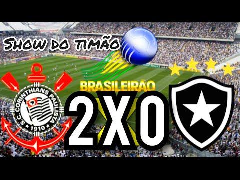 Melhores momentos de Corinthians 2x0 Botafogo 17/08/ 2019