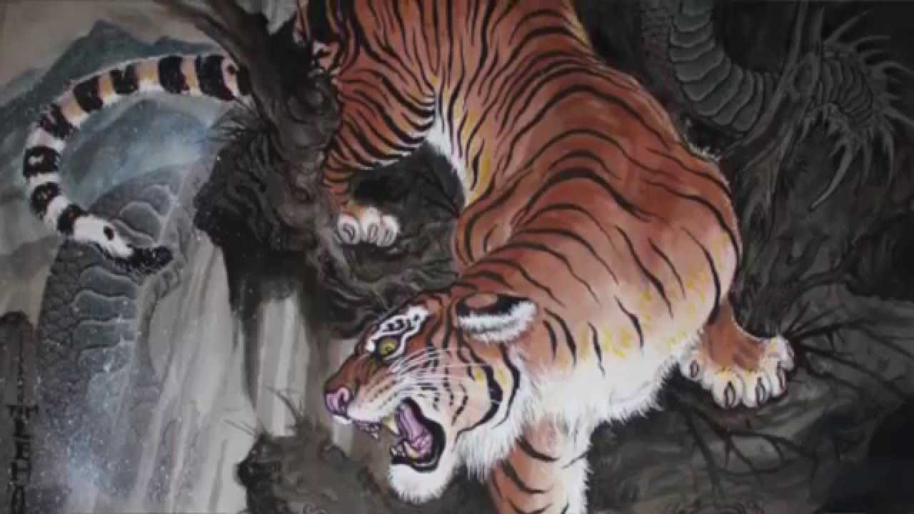 Epilogo El Significado De Los Tigres En El Irezumi Tatuaje Japones