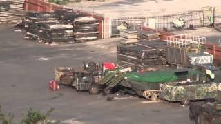 Несколько единиц техники ВСу в порту. Мариуполь. 09.08.2015