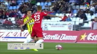 Resumen de UD Almería vs Real Zaragoza (2-2)
