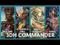 3DH Commander   Three games! - Game 1