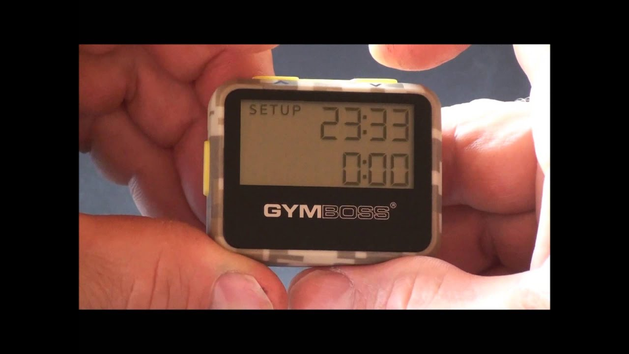 Help | Gymboss Interval Timers